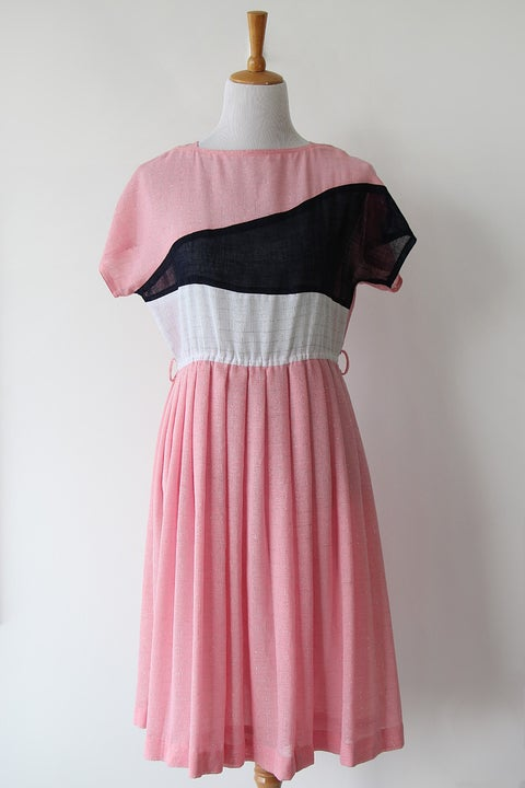Image of SOLD Pink Horizon Dress