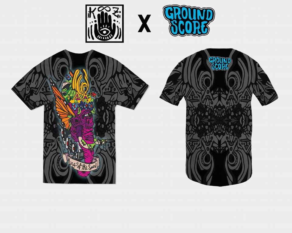 Image of KOOZ - King of the Sound Sublimated T-Shirt (LE 100)