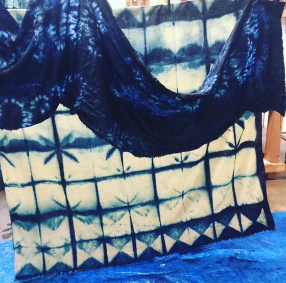 Image of INDIGO SHIBORI FOR BEGINNERS - Sunday March 25th 2-5 pm 2018