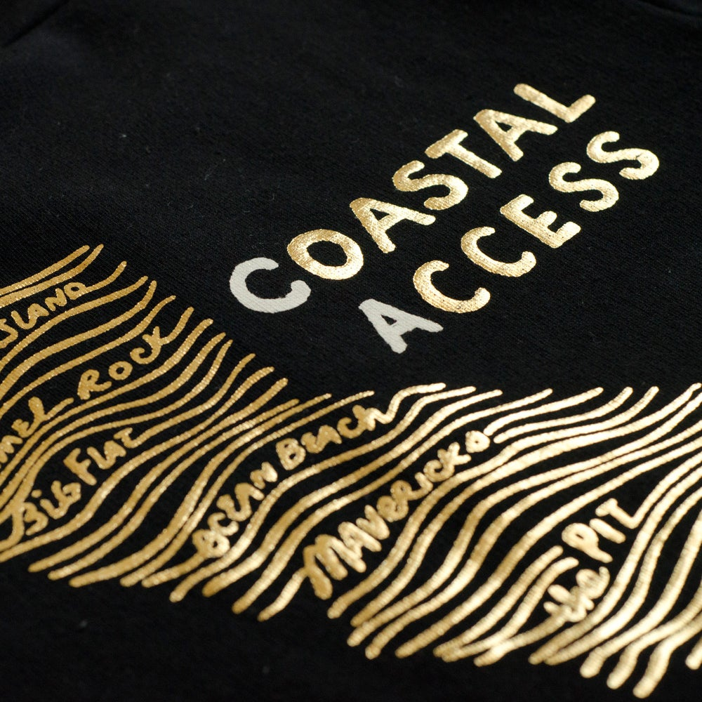 Image of COASTAL ACCESS kids' tee