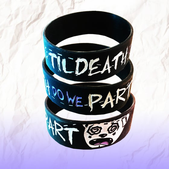 Image of Til Death Do We Part Wristband