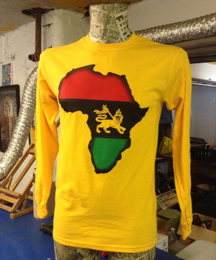 Image of The IAN BROWN ETHIOPIA long sleeve