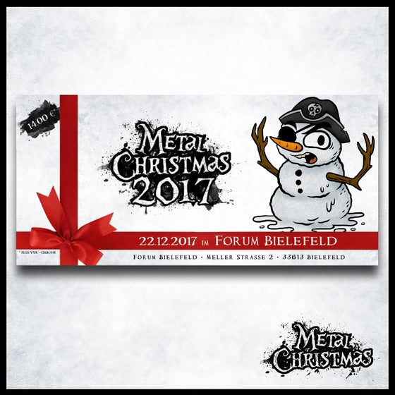 Image of Early-Snowman-Tickets für das Metal Christmas 2017 (streng limitiert)