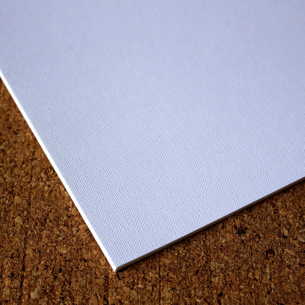 Image of White Textured Card