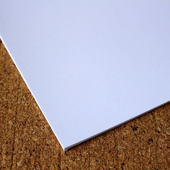 Image of Smooth White Card