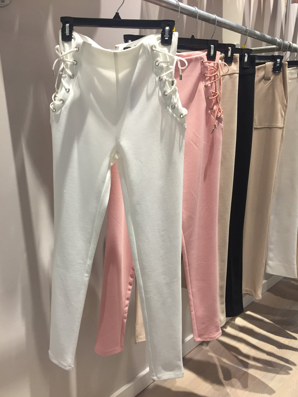 Image of Lacy Pants (White)