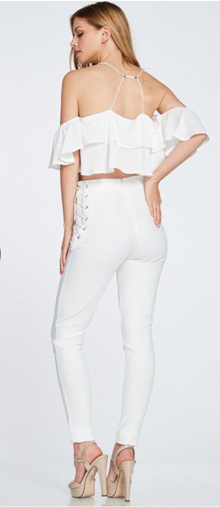 Lacy Pants (White)