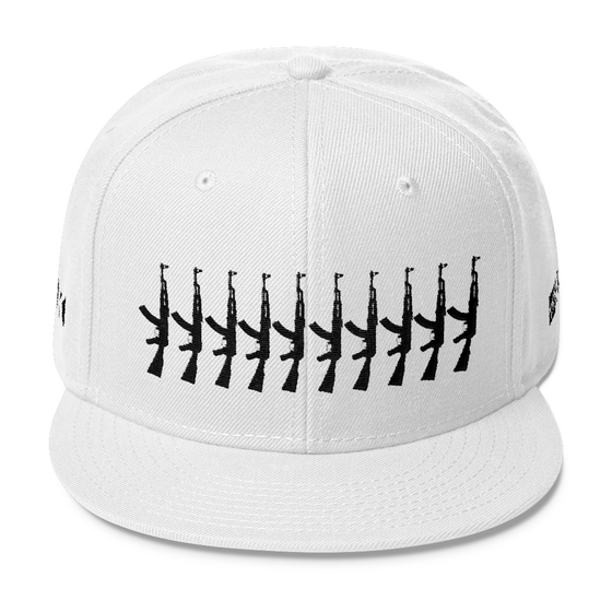 Image of Wool Blend Snapback White