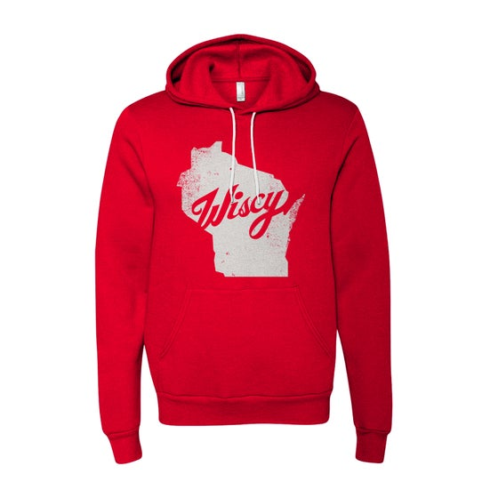 Image of Wiscy Hoodie in Classic Red