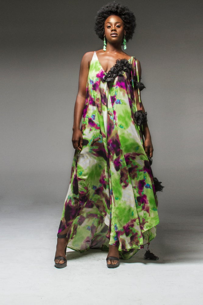 Image of Trail of Roses Dress