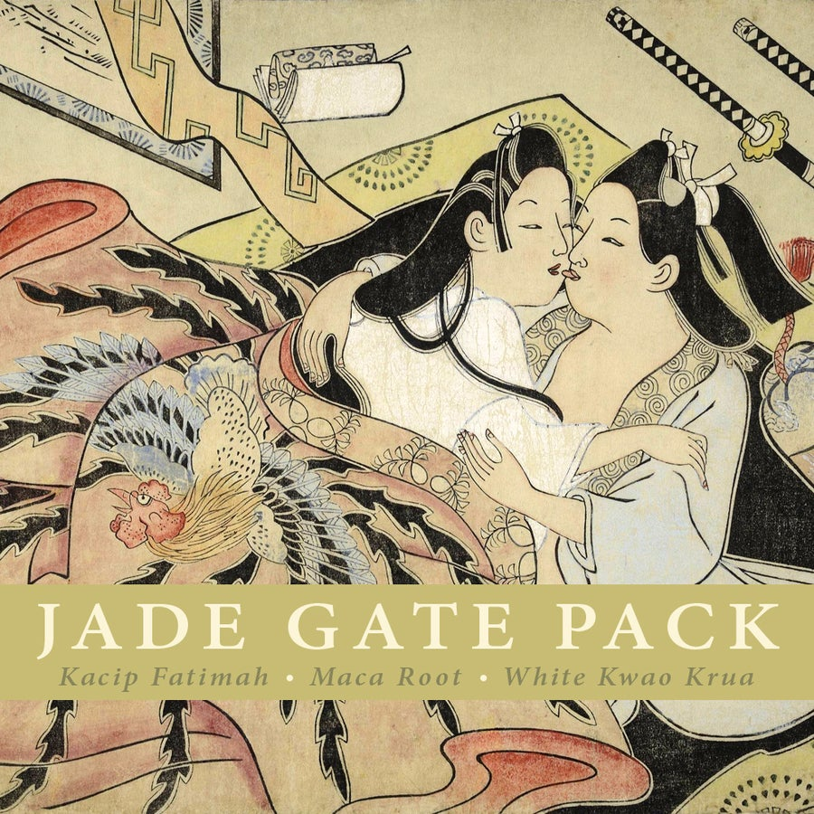 Image of JADE GATE Pack: Kacip Fatimah, Maca Root and White Kwao Krua