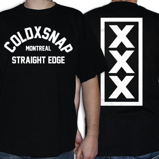 Image of COLDXSNAP - Staight Edge - T-Shirt