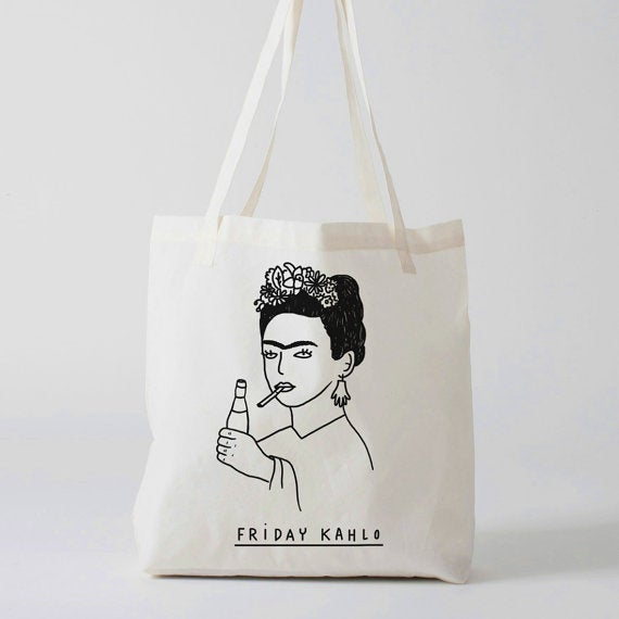 Image of Bolsa FRIDAY KAHLO. By La Mandanga