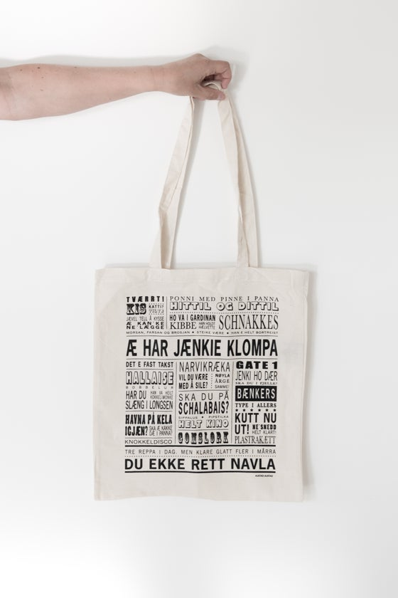 "Image of Tøynett ""Æ har jænkie klompa"" (Narvik)"