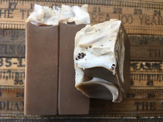 Image of JAVA--Coffee & Goat Milk Soap with Silk