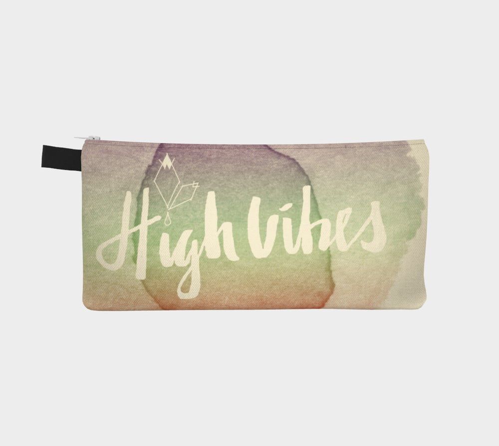 Image of High Vibes Carry All Pouch