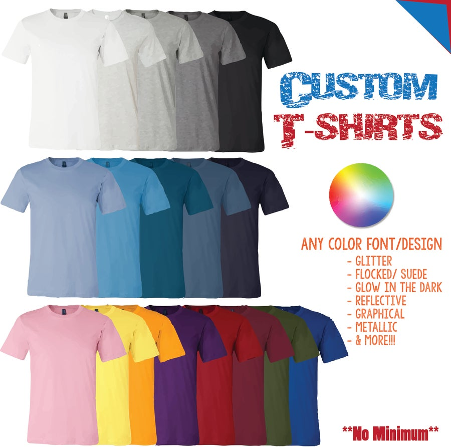Design Shirts No Minimum Rldm