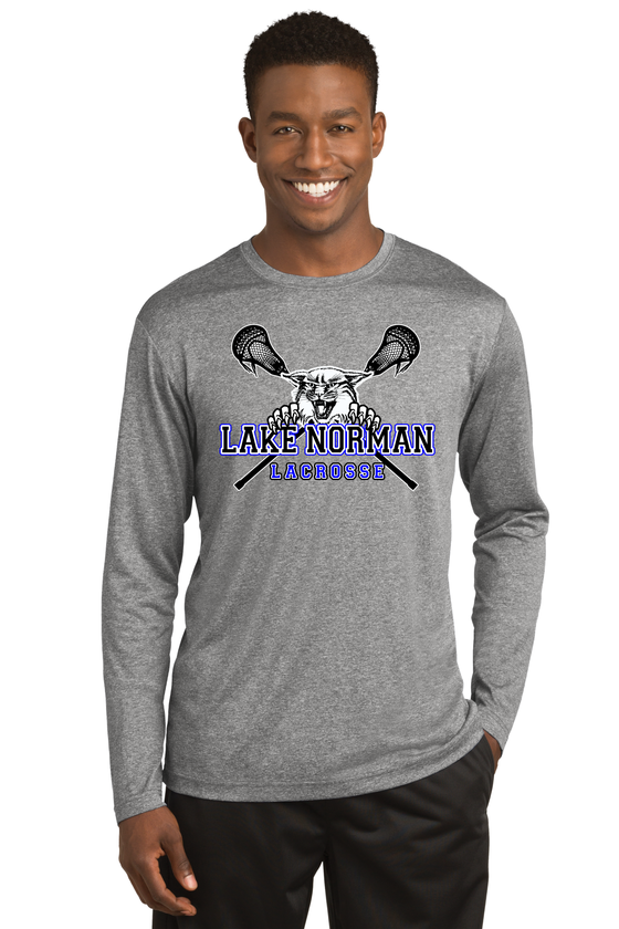 Image of OFFICIAL PRACTICE WEAR  Longsleeve Poly DriFit tee - 4 color options