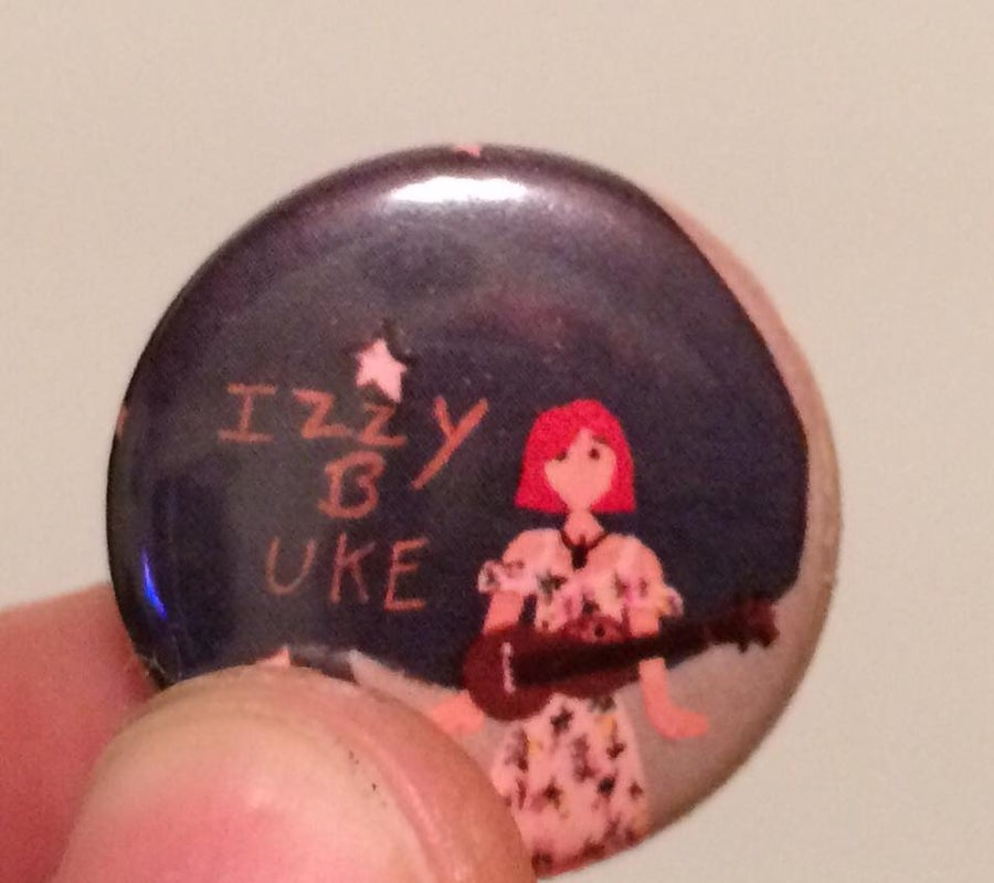 Image of Izzy B Uke Button Badge