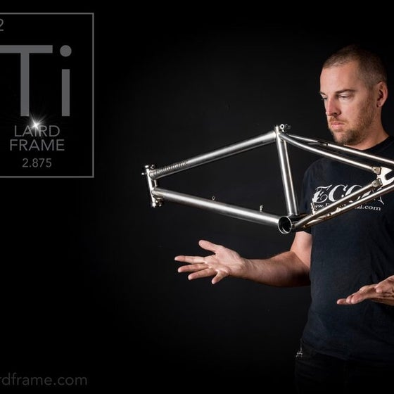 Image of Titanium Custom Frame