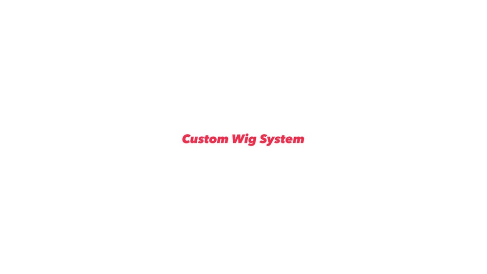 Image of Custom Wig System Construction Only