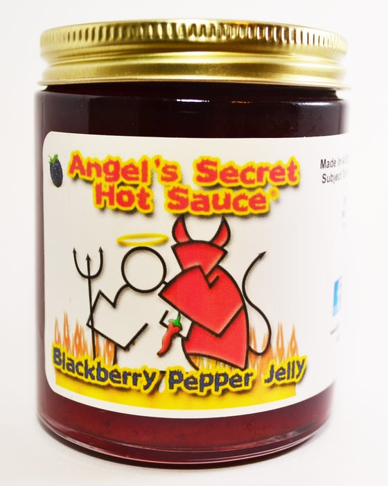 Image of Blackberry Pepper Jelly