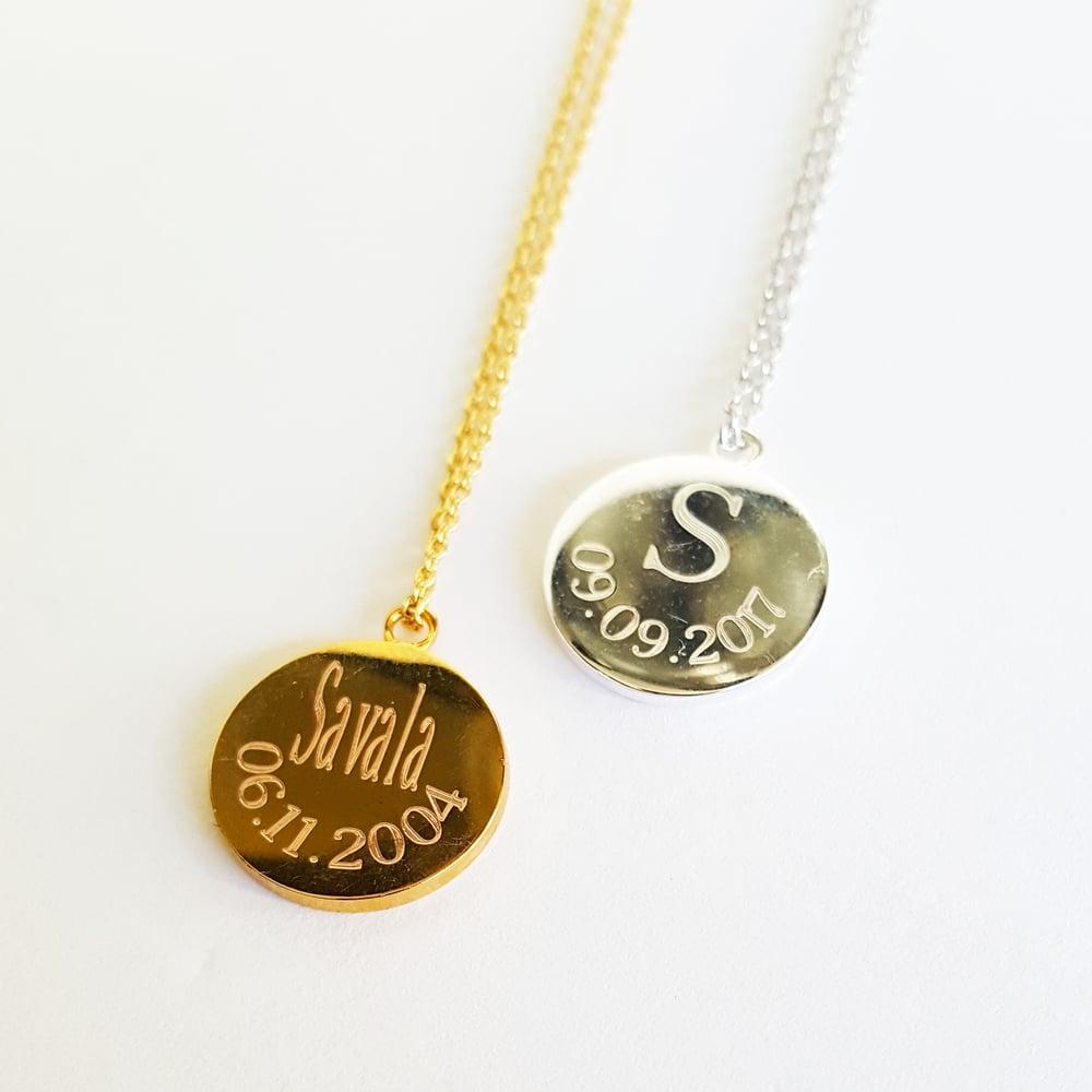 Image of Wedding Keepsake Necklace