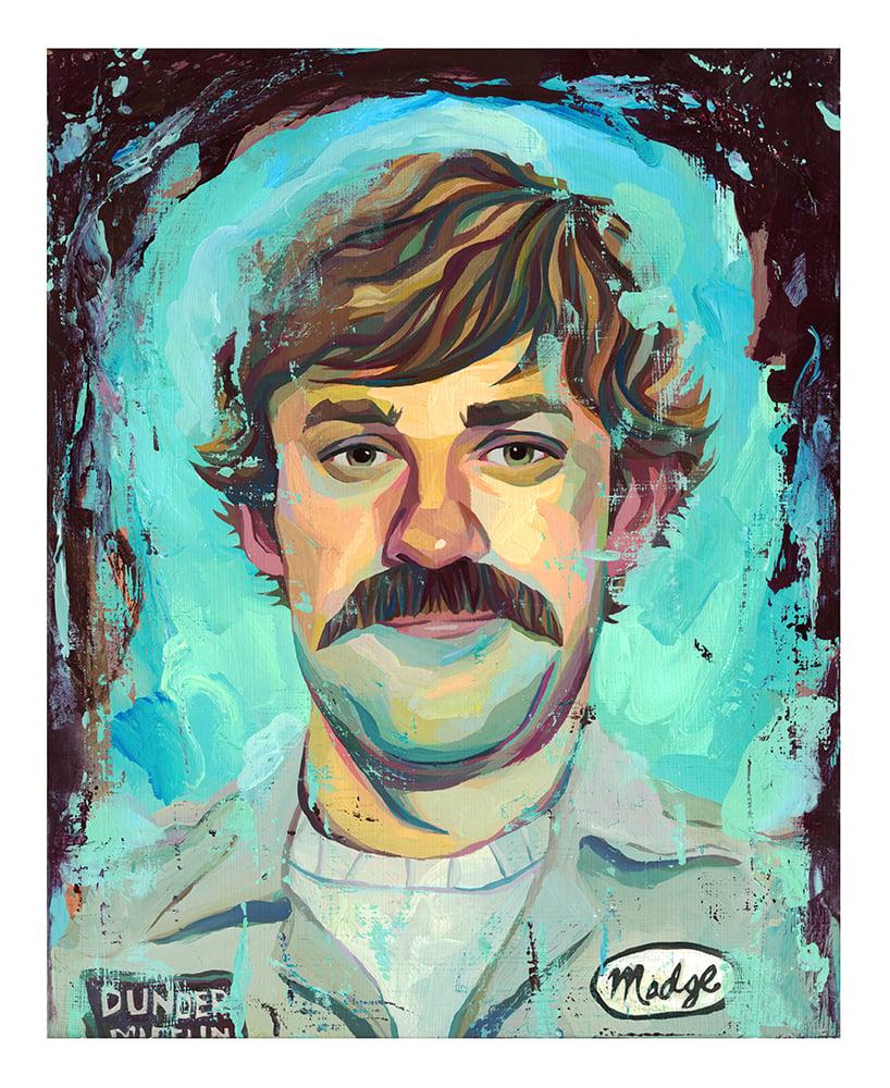 Image of The Office Jim Halpert Print 8x10