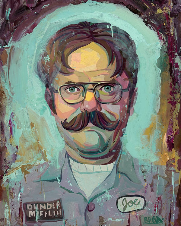 Image of The Office Dwight Schrute Print 8x10