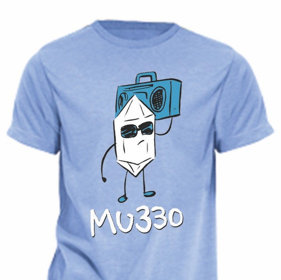 Image of MU330 Boom Box T-shirt