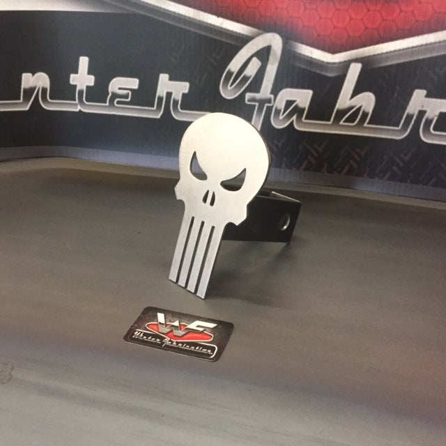 Image of Punisher Skull Hitch Cover - STYLE 2