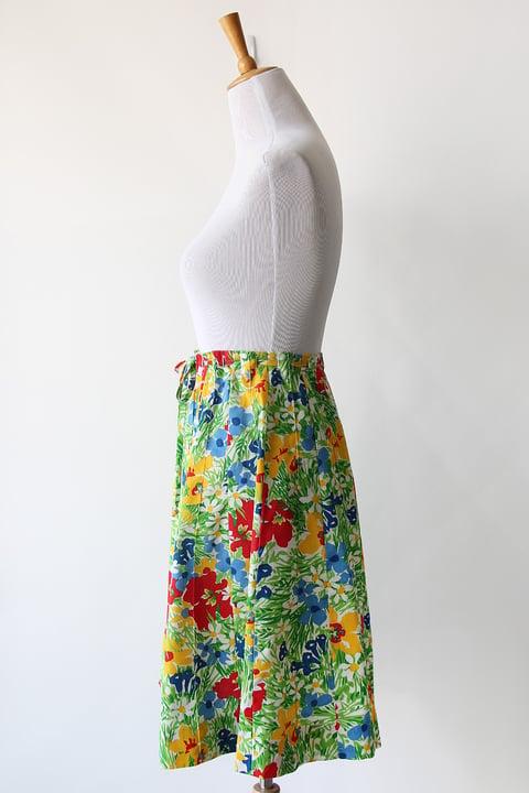 Image of SOLD Flower Fields Skirt