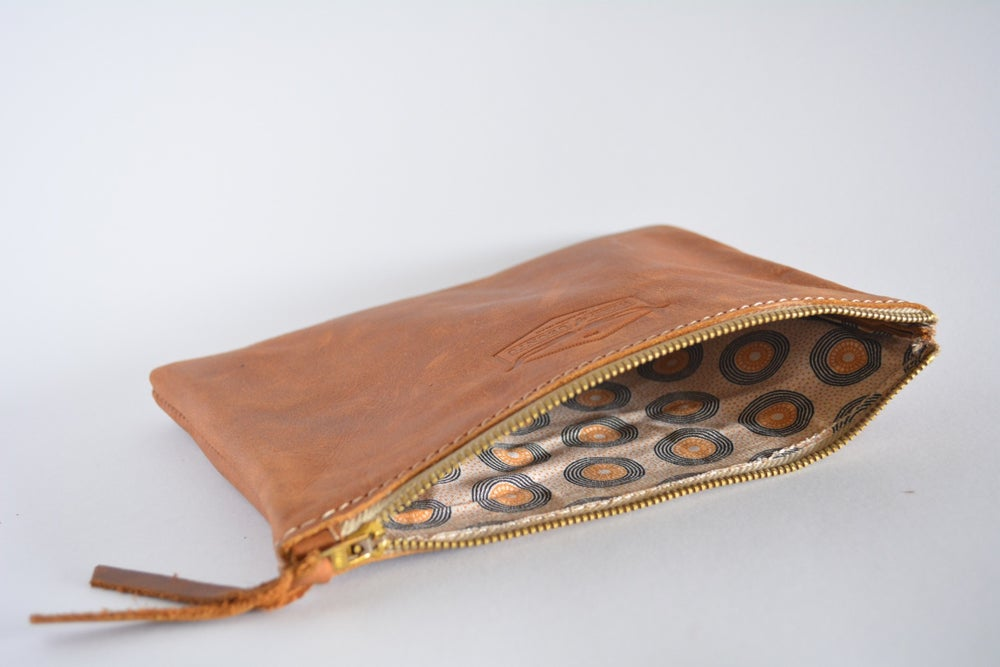Image of 'Mashatu' Leather Travel Purse