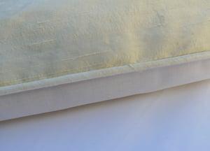 Image of Gorgeous Vanilla Dupion Pure Silk Eiderdown
