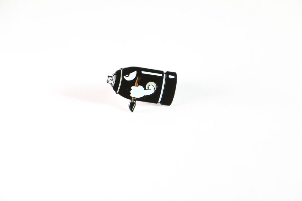 Image of 'WARPAINT' ENAMEL PIN !