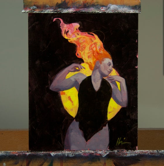 Image of Fiery (Study)