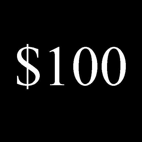 Image of $100 Donation
