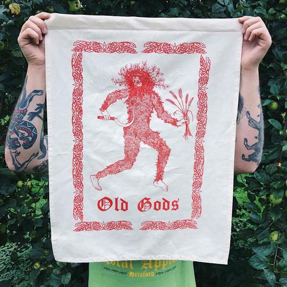 Image of Old gods tea towels