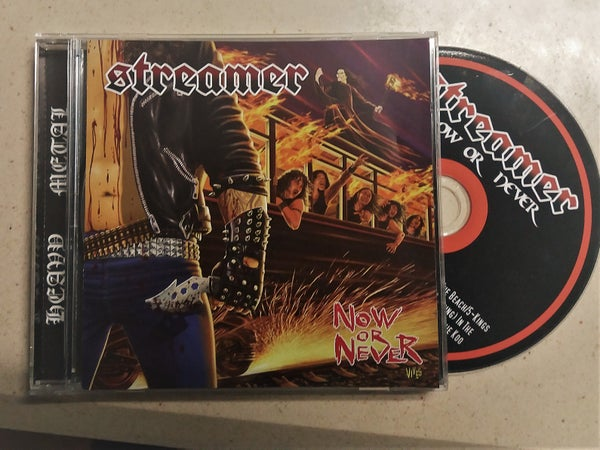 Image of STREAMER-NOW OR NEVER (CD)