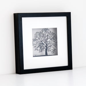 Image of Framed Paper Cut Tree