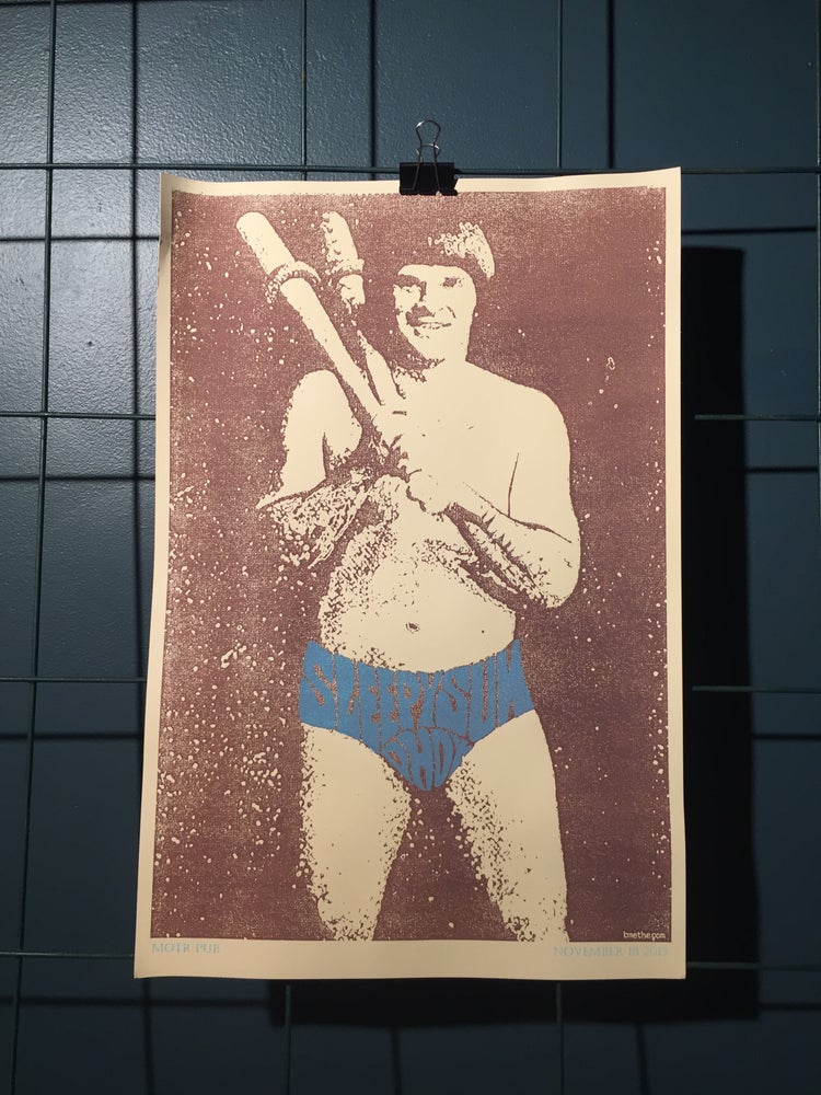 "Image of Sleepy Sun ""Pete Rose"" Poster"