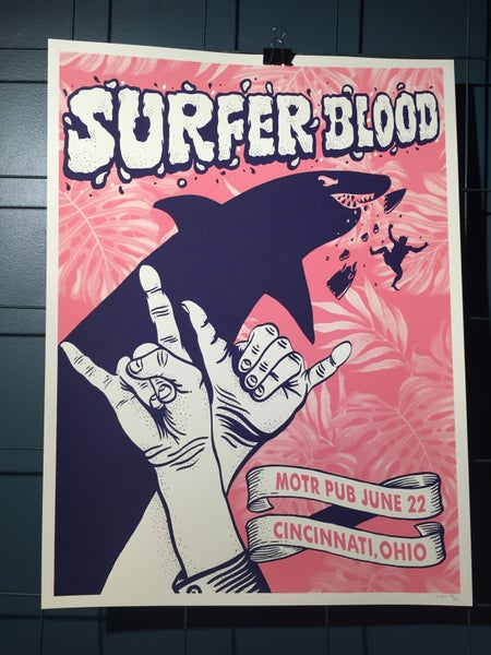 Image of Surfer Blood Poster