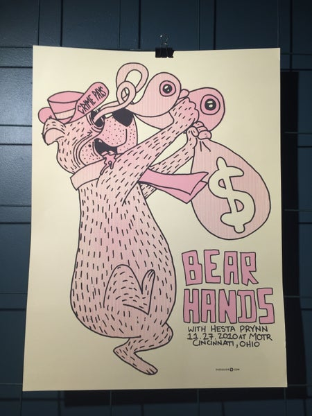 Image of Bear Hands Poster