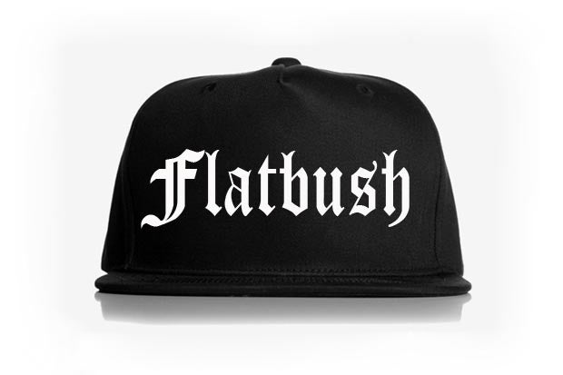 Image of Konquer Flatbush neighborhood snapback