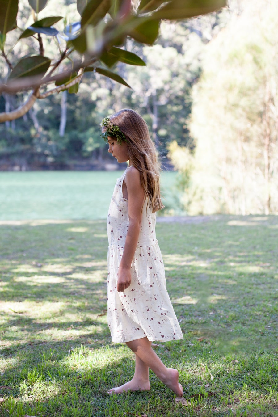 Image of Joni Dress - Cream Floral