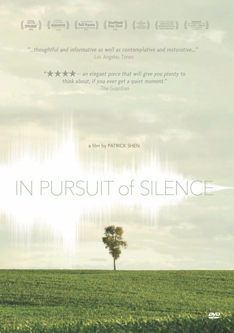 Image of In Pursuit of Silence DVD or Blu-Ray (Retail Edition)