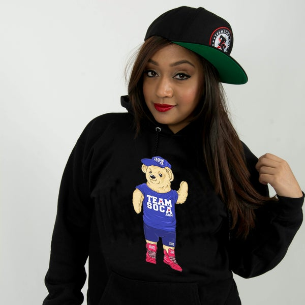 Image of Men & Women Team Soca Bear Hoodie