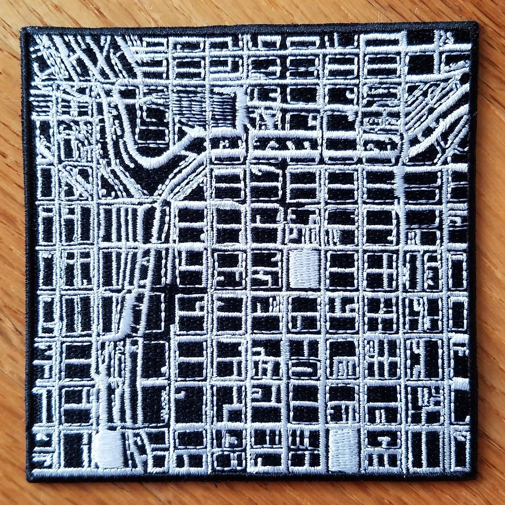 Image of Mark Solotroff - Radial Communication - Embroidered Patch