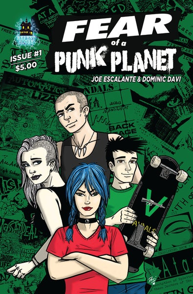 Image of Fear Of A Punk Planet Comic Book Issue #1