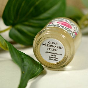 Image of Clear Watermarble Polish